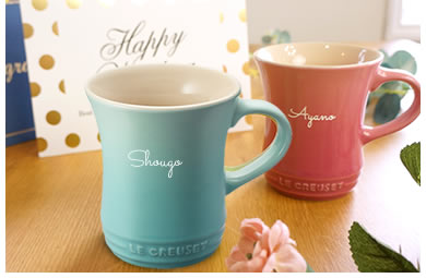 新生活にぴったりのル・クルーゼのマグカップ
