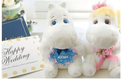 北欧の人気キャラクター「ムーミン」 白いふわふわの可愛さにみんなが笑顔に!